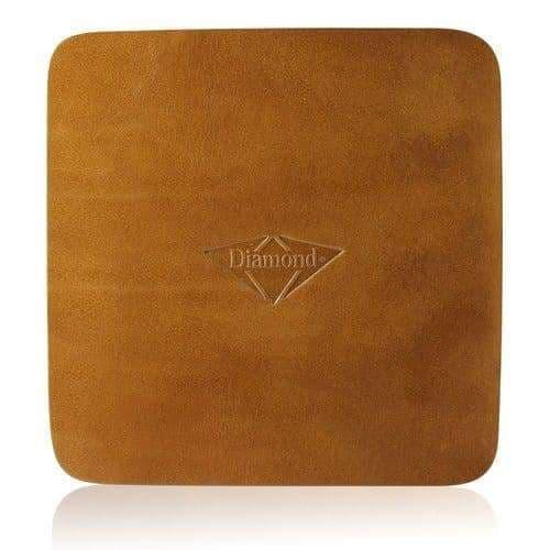 Diamond leather pad 17x17 cm